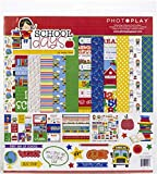 Photoplay Paper PhotoPlay Collection Pack 12'X12', Time, Money & Fractions - Grades 1-2