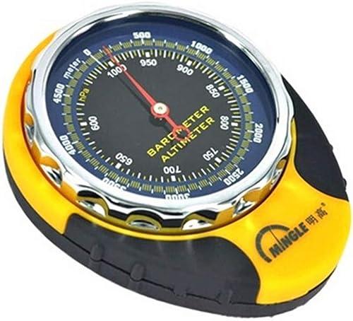 ZHINANZ 4in1Multifunction Professionnel étanche Compas Baromètre Altimètre Ther ètre pour Alpiniste Militaire Randonnée en Plein Air