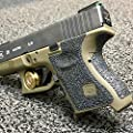 TOFEIC Pistol Gun Grip Texture Rubber Tape for Glock 26 27 28 33 39 Gen 5 by Chenyue