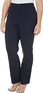 Plus Solid Pull On Millennium Pants 16W Short