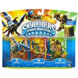 Skylanders Spyros Adventure Character 3Pack Drobot/Flameslinger/Stump Smash