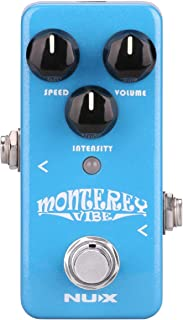 NUX Monterey Vibe Guitar Effects Pedal with an optional...