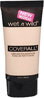 Wet n Wild CoverAll Creme Foundation - Fair