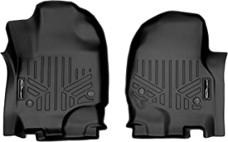 MAXLINER Floor Mats 1st Row Set Black for 2018-2021 Ford Expedition/Expedition Max with 1st Row Bucket Seats