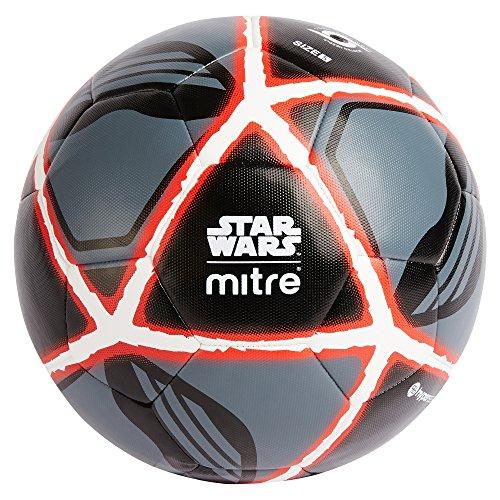 Mitre, Star Wars, Pallone Calcio Kylo Ren, Unisex Adulto, Nero, 5