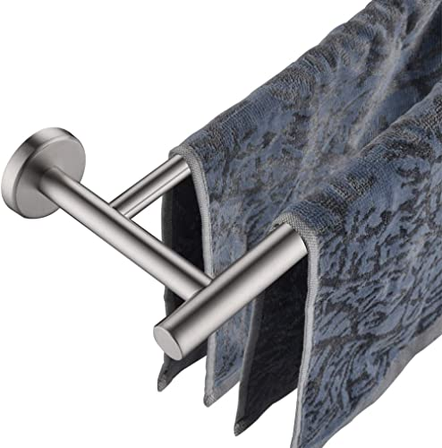 JQK Double Bath Towel Bar, 36 Inch Stainless Steel Towel Rack for Bathroom, Bath Towel Holder Brushed Wall Mount, Tot...