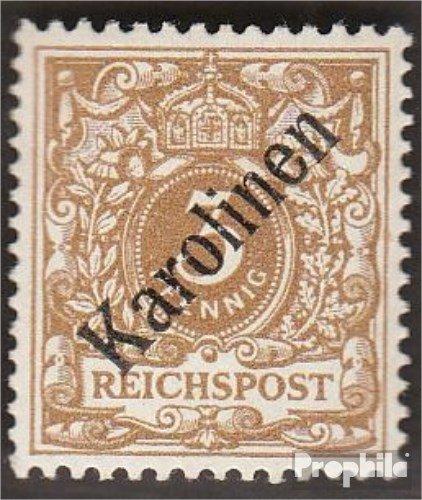 Prophila Collection Carolinas (alemán.Colonia) 1I Diagonal sobretasa Devaluación Favor 1900 emisión de...