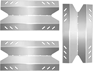 Boloda Gas Grill Heat Plate Shields, Stainless Steel BBQ Parts Replacement for Members Mark BQ05046-6, BBQ Pro BQ05041-28,...