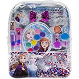 Frozen 2 backpack cosmetic sets includes-: Lip gloss compact, hair bows, nail polish, nail file, lip balm, toe spacer, nail stickers Safe for children 3 and up- Our non toxic water based formula makes these cosmetics safe for young ones aged 3 years ...