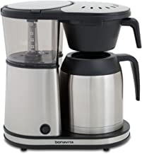 Bonavita Connoisseur 8-Cup One-Touch Coffee Maker Featuring Hanging Filter Basket and..