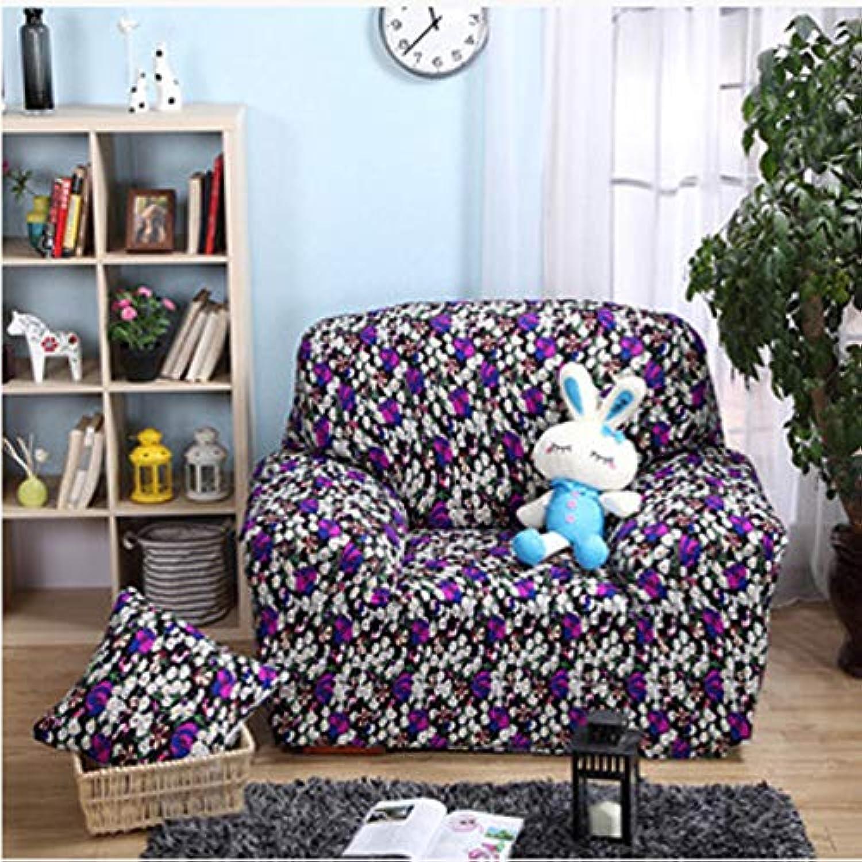 Vivona One Seater Textile Spandex Strench Flexible Printed Vivona astic Sofa Couch Cover Furniture Predector - (color   12)
