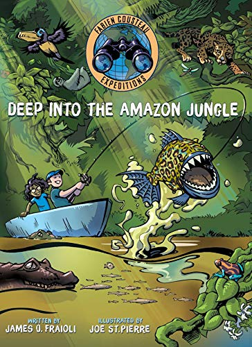 Deep into the Amazon Jungle (Fabien Cousteau Expeditions) (English Edition)