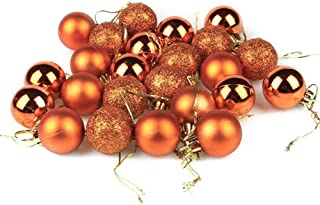 AKOAK 24 Pcs Christmas Ball Ornaments Multicolor Christmas Tree Decoration Balls for Holiday Wedding Party Decoration,with...