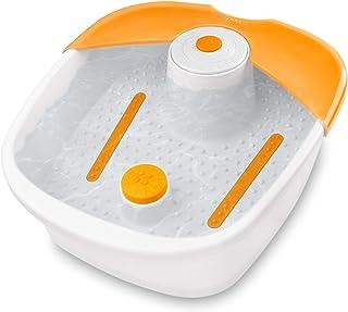 medisana FS 881 voetbubbelbad met voetreflexologie - elektrisch voetbad, opwarmfunctie, vibratiemassage, voetbad met massa...