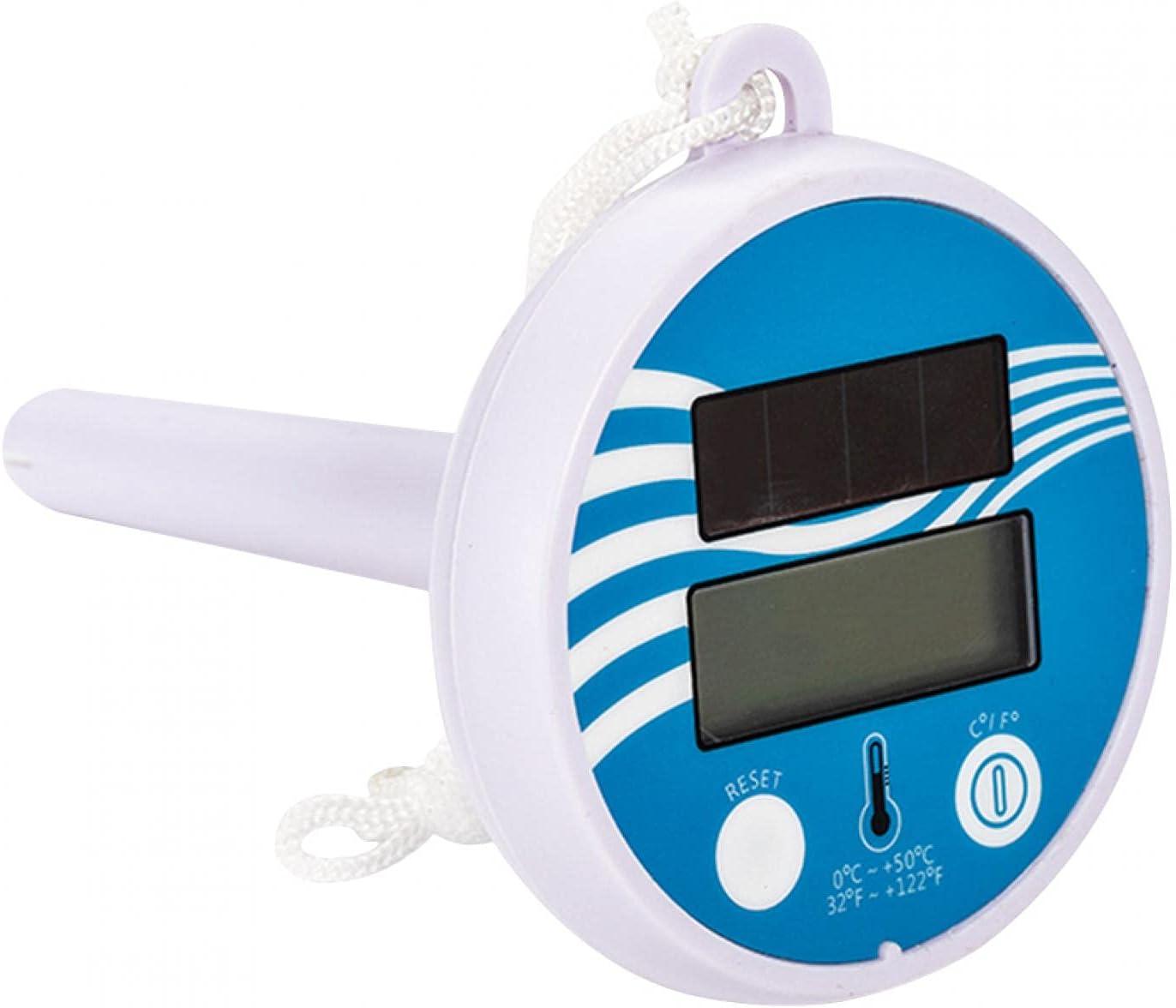 BWWNBY Solar Powered Swimming Digital Thermometer LCD Ranking TOP3 San Antonio Mall Pool