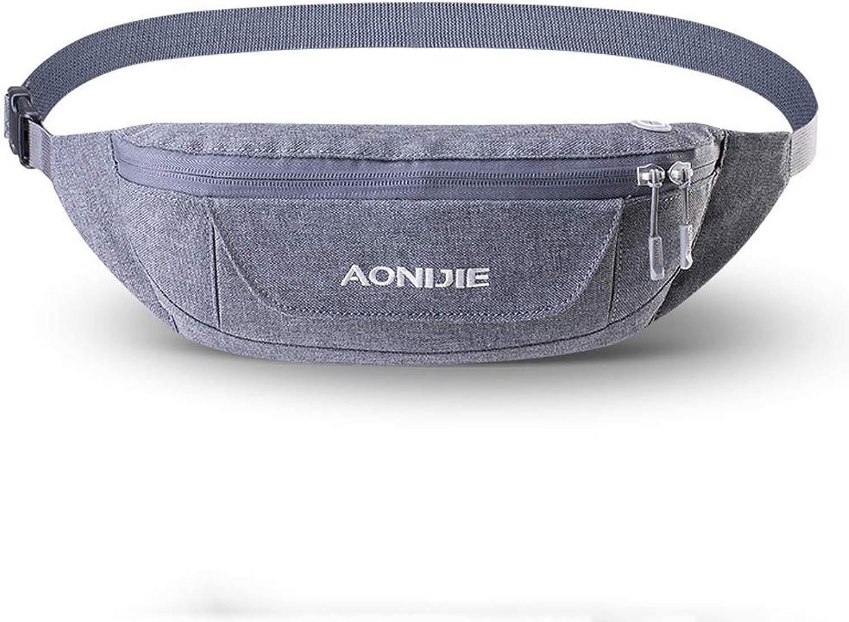 Lsxlsd Outdoor Sports Running Waist Bag Men and Women CloseFitting AntiTheft Casual Chest Bag Mobile Phone Bag