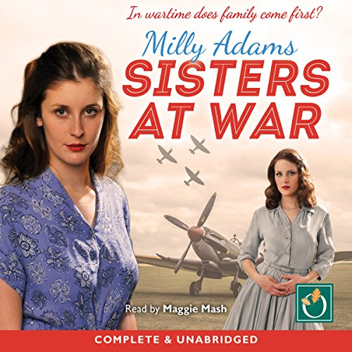 Sisters at War audiobook cover art