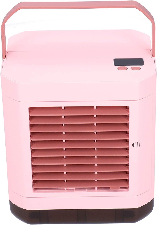 Super beauty product restock quality top Velaurs Rapid rise Cooling Fan Digital Display Mini Cooler Air Sum Desktop