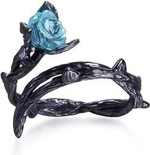 Best black plastic rose ring Reviews