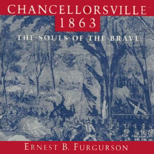 Chancellorsville 1863 audiobook cover art
