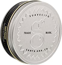 Suavecito Premium Blends Pomade- All Natural Hair Pomade for Men (4 oz).