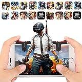 Reglas de Supervivencia Cofemy Funda para Dedo para Juegos m/óviles PUBG Dedo para tel/éfono Inteligente Ultrafino para Call of Duty Mobile Negro Compatible con iOS//Android