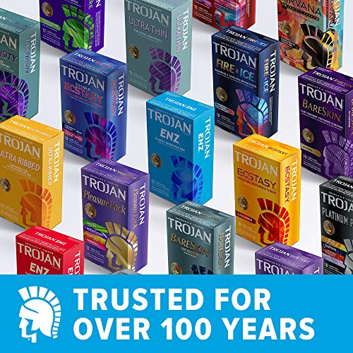Trojan Ultra Thin Lubricated Condoms 36ct