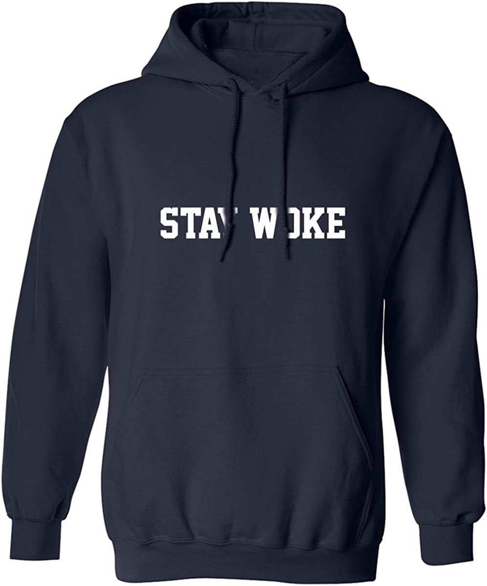 STAY WOKE Adult Hooded Sweatshirt