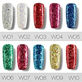 10 Colores de la Esmaltes de Uñas en Gel Semipermanente Baratos por ESAILQ B