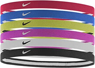 Nike Swoosh Sport Headbands 6pk, One Size