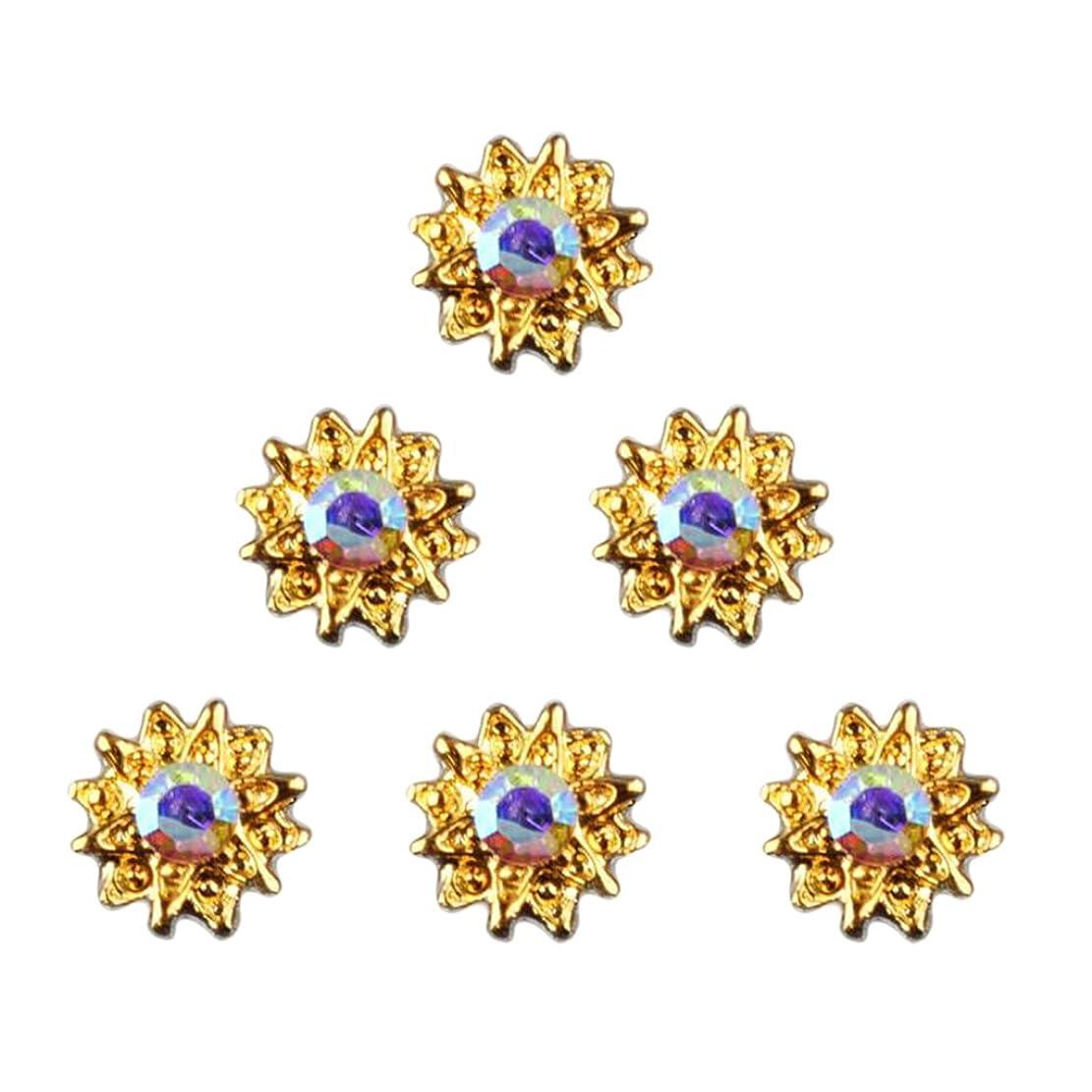 読書をする土砂降りダンプBaosity ネイル ネイルデザイン ダイヤモンド 約50個 3Dネイルアート ヒントステッカー デコレーション おしゃれ 全8タイプ選べ - 5