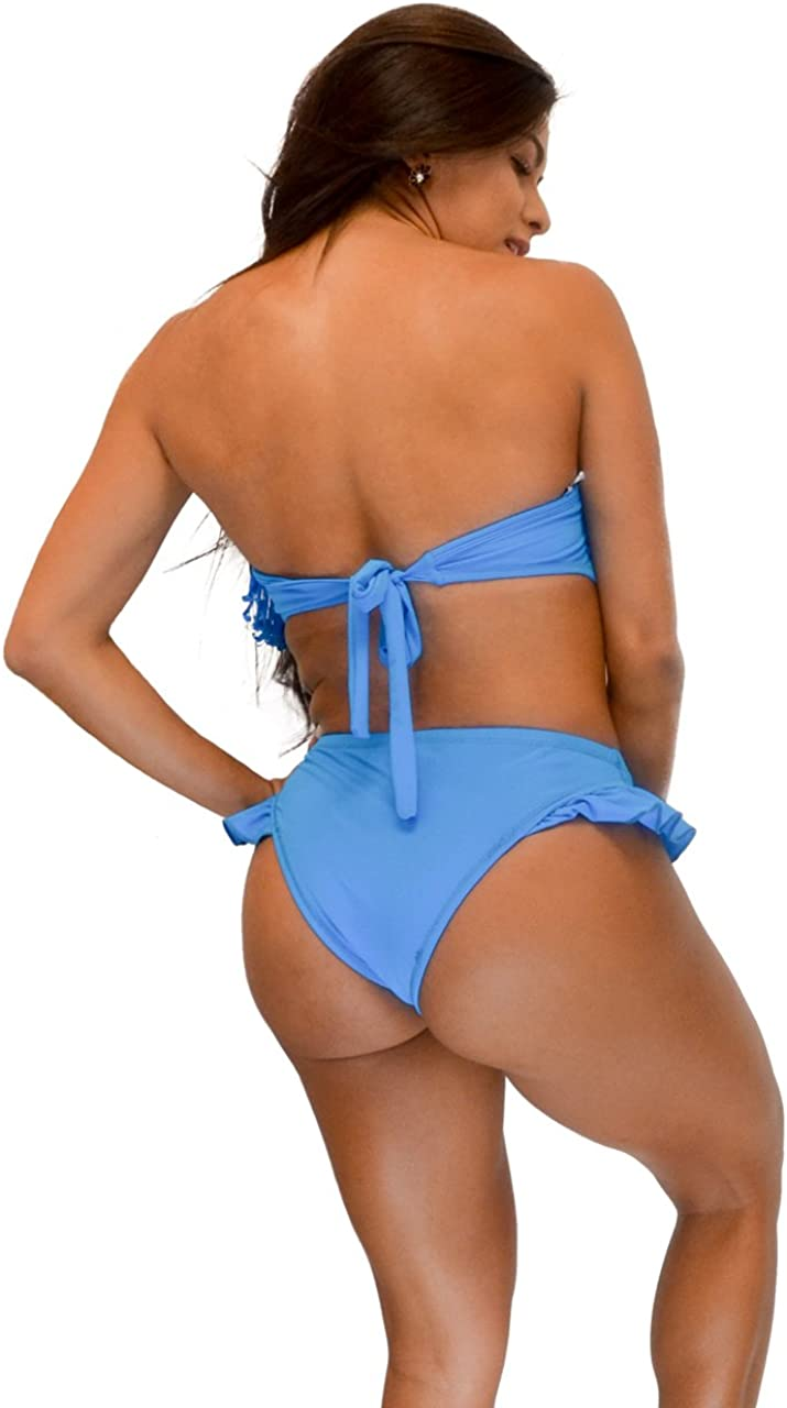 VF-Sport - Bikini, Fringe Bandeau, Two Piece Set