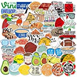 Fresh Vine Stickers Pack,Funny Meme Stickers for Teens and Adults,Vinyl Decals for Hydroflask Water Bottles Laptop Phone Case(67pcs)