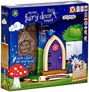 The Irish Fairy Door Company FD554219 Magical, Purple