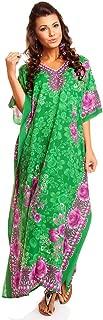 Looking Glam Ladies Full Length Maxi Kimono Kaftan Dress