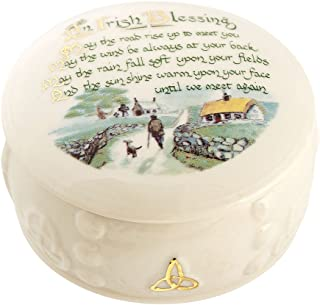 Belleek Irish Blessing Box, 3