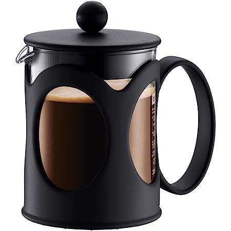 BODUM ボダム KENYA ケニヤ フレンチプレス コーヒーメーカー 500ml ブラック 【正規品】 10683-01J