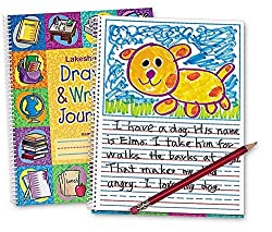 Best Toys for 5 Year Old Girls-Lakeshore Draw & Write Journal