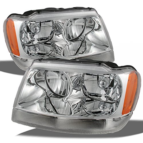 01 jeep grand cherokee headlights - 3
