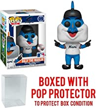 POP! Sports MLB Mascots Miami Marlins, Billy The Marlin #9 Action Figure (Bundled with Pop Box Protector to Protect Display Box)