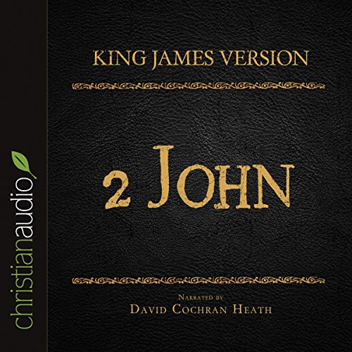 Holy Bible in Audio - King James Version: 2 John audiobook cover art