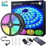 32M(16Mx2) Tira LED RGB, NOVOSTELLA Luces LED Habitacion Decorativas 24V 960 LEDs Tiras Luces Adhesiva Multicolor SMD5050 con RF...