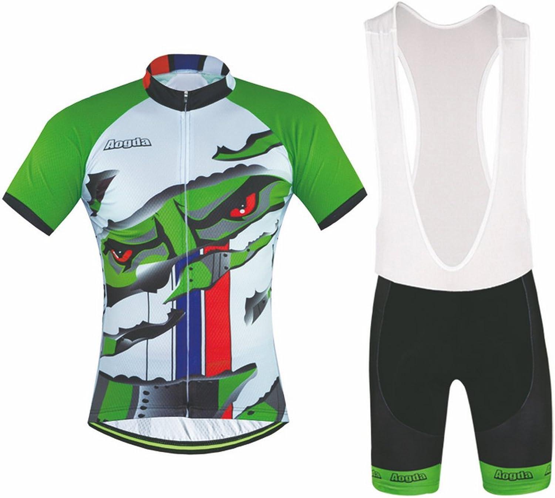 Aogda Cycling Jerseys Men Biking Bike Shirts Tights Bicycle Clothingam Bicycle Clothing