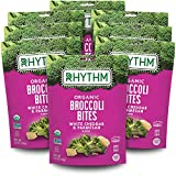 PERFECT ON-THE-GO SNACK: Don't let your busy day stop you from living a healthy, nutrient-rich lifestyle. Enjoy 8 convenient, snack size Broccoli Bites packs to fuel your day! FIND YOUR RHYTHM: Our Organic White Cheddar & Parmesan Broccoli Bites are ...
