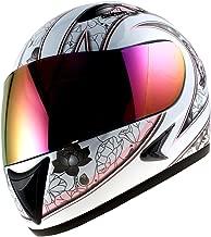 1Storm Motorcycle Street Bike BMX MX Youth Kids Girl Full Face Helmet Butterfly Pink