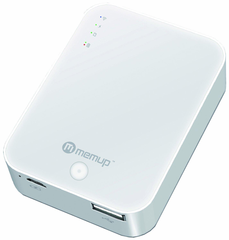 MEMUP WI-CENTER - Batería adicional para Tablet y Smartphone (lithium polymer, 5000 mAh): Amazon.es: Electrónica