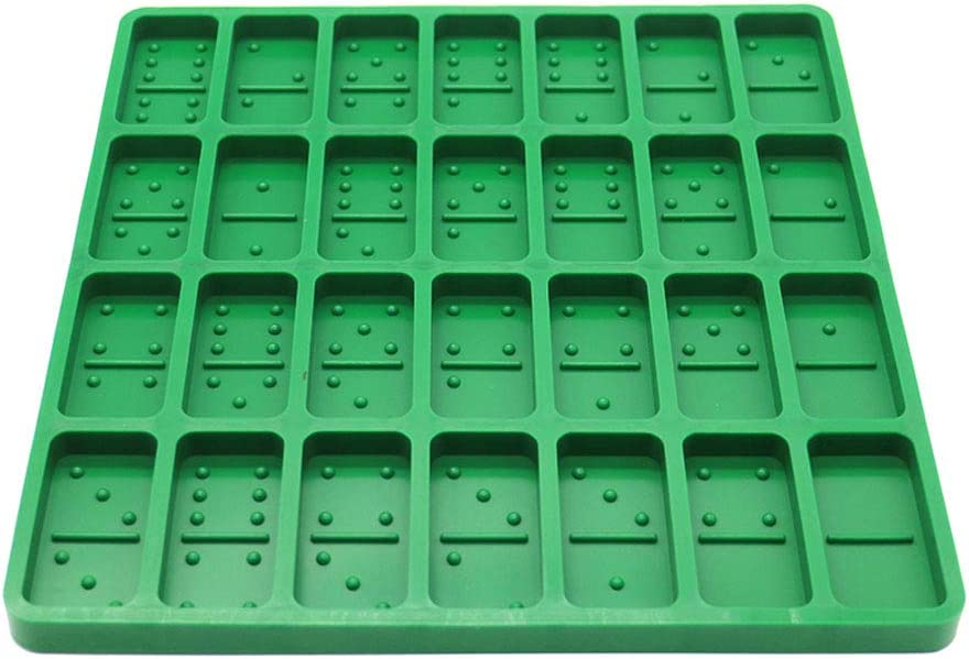 Domino Silicone Molds for Resin Casting Translated Size New mail order Big Epo Cavities 28