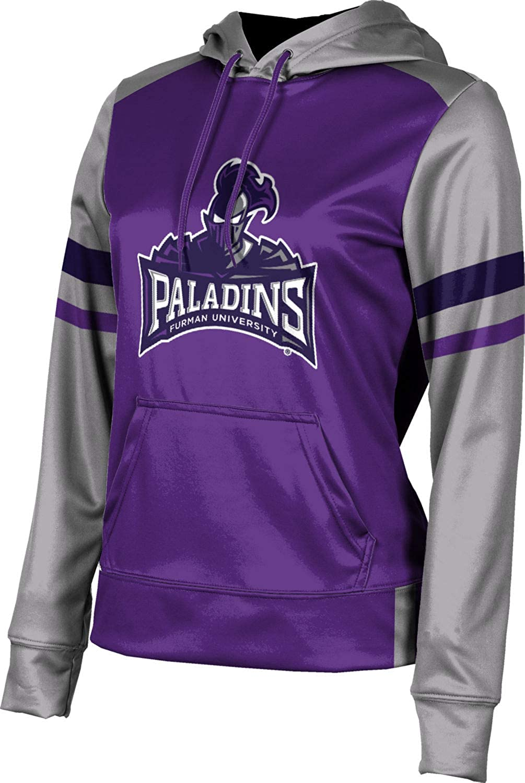 Furman University Girls' Pullover Hoodie, School Spirit Sweatshirt (Old School)