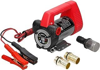 BALLSHOP Dieselpumpe /Ölabsaugpumpe /Ölpumpe 12V 160W 40 L//min Selbstansaugend Elektrisch f/ür Autos Motorr/äder Transporter Quads