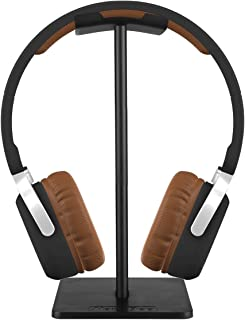 Headphone Stand,DGBAY Universal Aluminum Holder Showing Display Hanger for HyperX Cloud II,Microsoft Xbox One Chat,Turtle Beach Recon 50X/P,Sony Playstation Wireless Stereo Headset 2.0(Black)